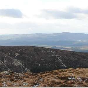 Auchenlosh from the summit of Screel Hill