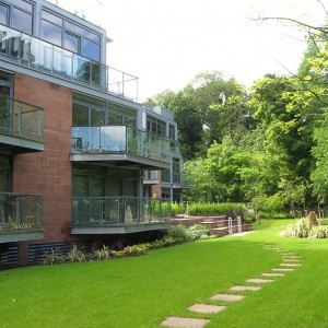 Contemporary Residential Development, Belford Lodge, Edinburgh