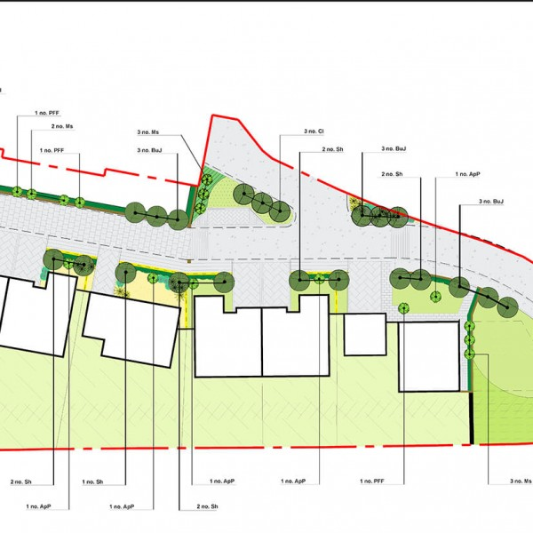 Detailed Planting Plan (North)