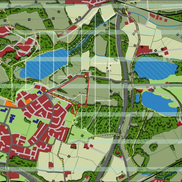 Lochend landscape & planning context