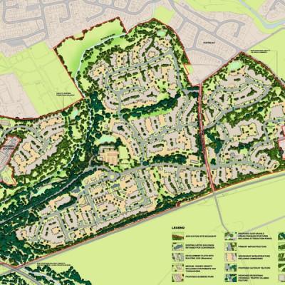 Concept Masterplan - Woodilee Hospital Redvelopment